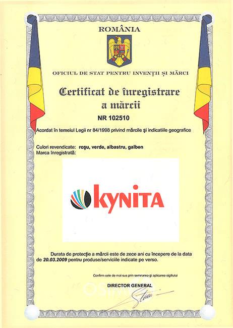 certificat-inregistrare-marca-kynita