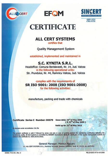 certificat-kynita-qms
