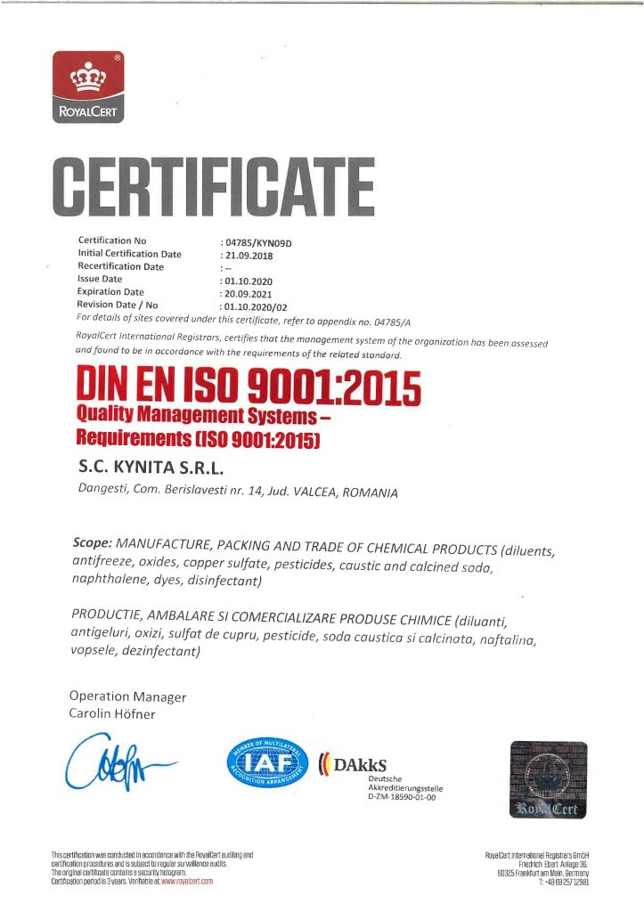 Certificat ISO 9001 Kynita 2020-2021-page-001